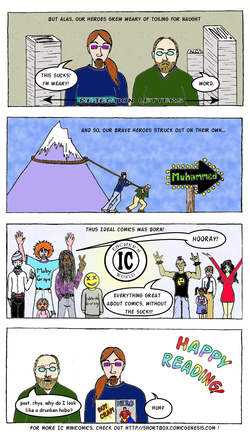 The Secret Origin of Ideal Comics pt 2