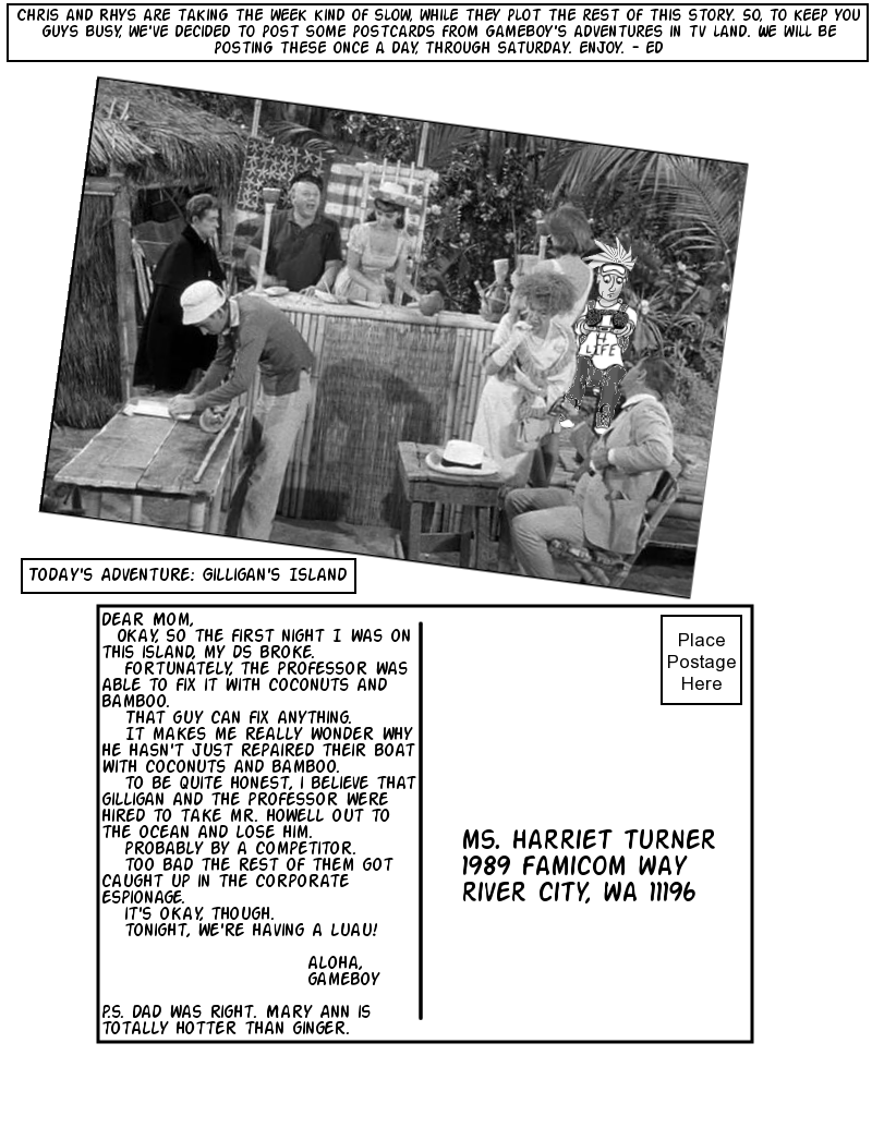 Postcards from TV Land: Gilligan's Island