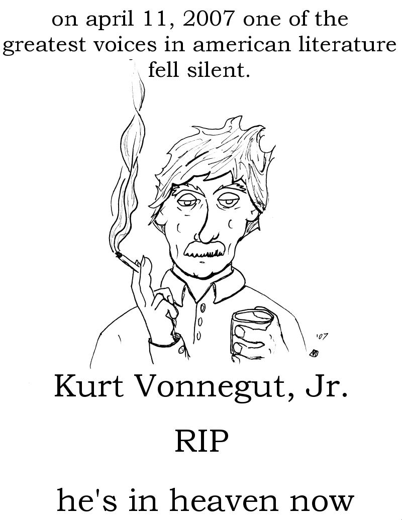 RIP Kurt Vonnegut