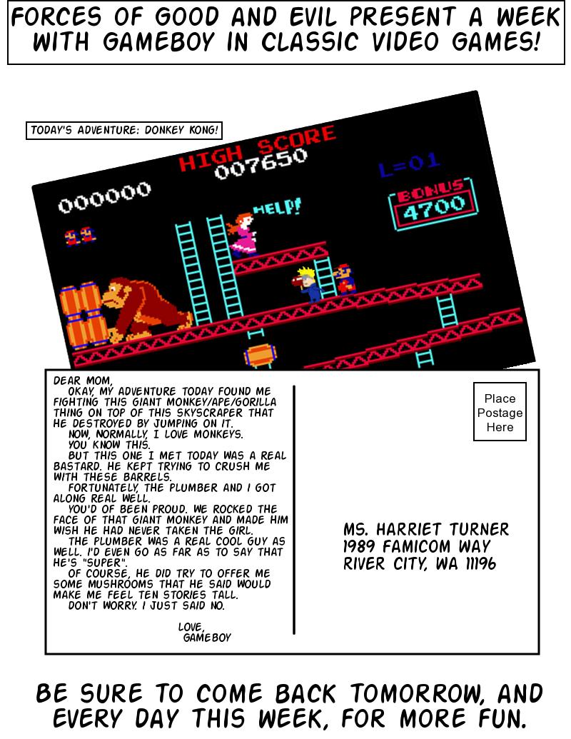 Postcards From Gameland: Donkey Kong