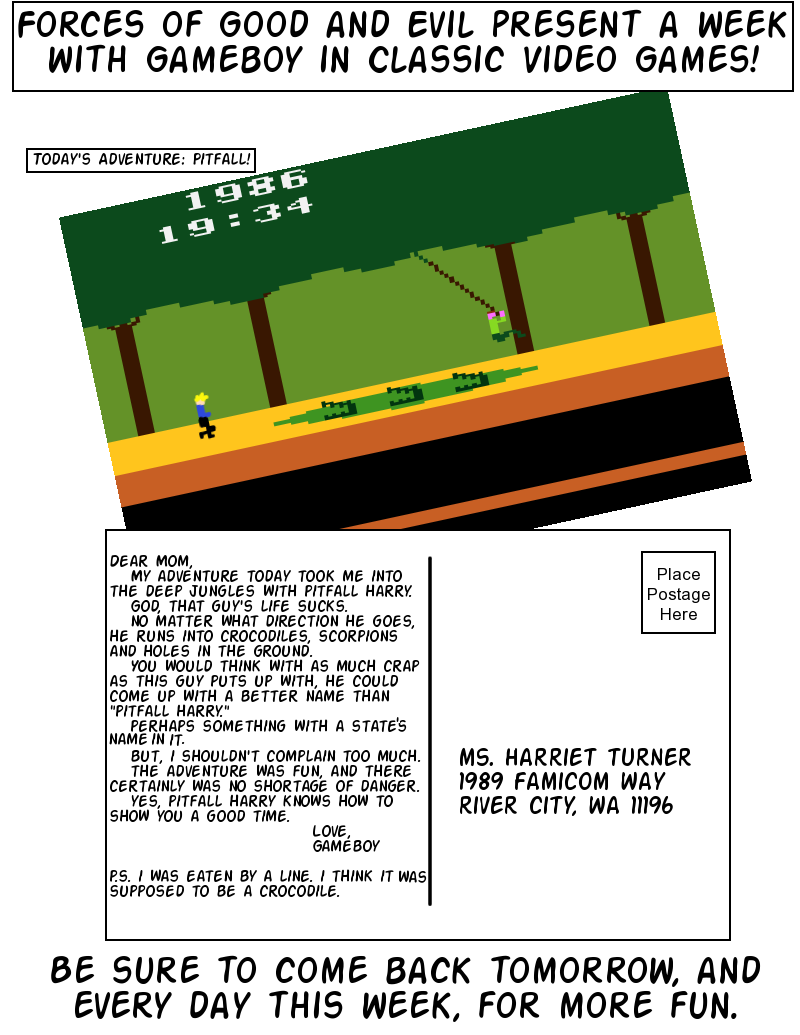Postcards From Gameland: Pitfall