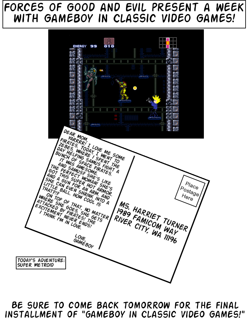Postcards From Gameland: Super Metroid