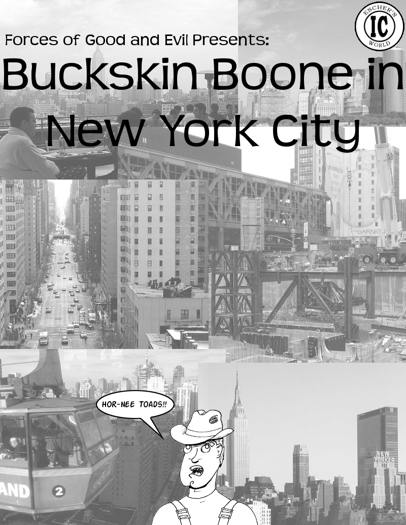 Spring Break '05: Bucksin Boone in New York City