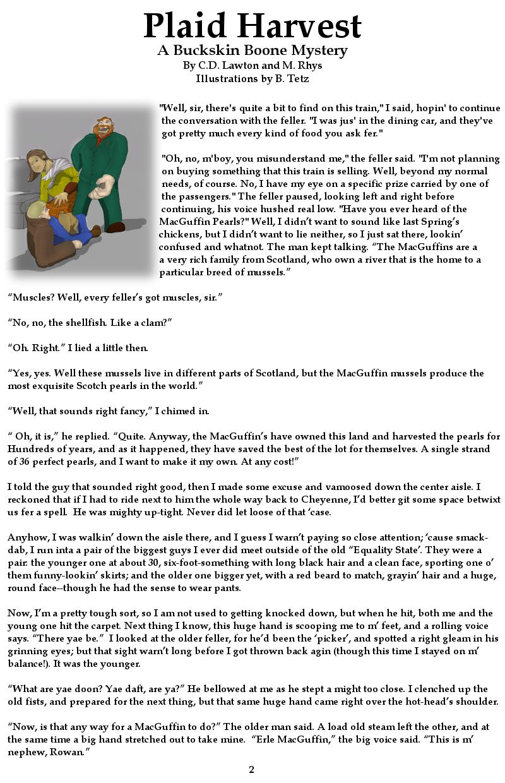 Plaid Harvest pg 2