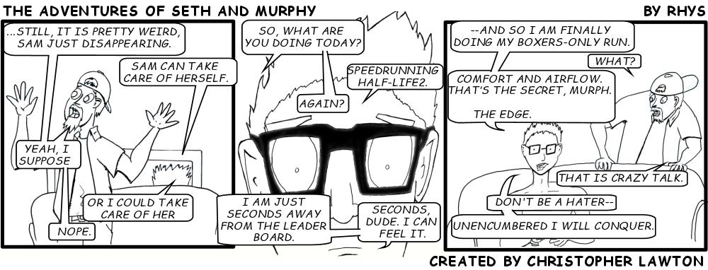 Seth and Murphy: Strip