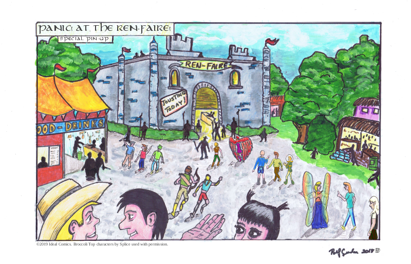 Panic! At the Ren-Faire Poster